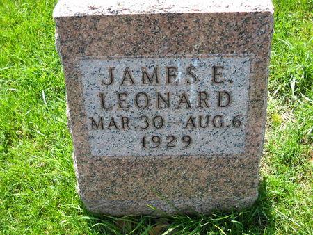 LEONARD, JAMES E. - Polk County, Iowa   JAMES E. LEONARD