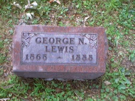 LEWIS, GEORGE N. - Polk County, Iowa | GEORGE N. LEWIS