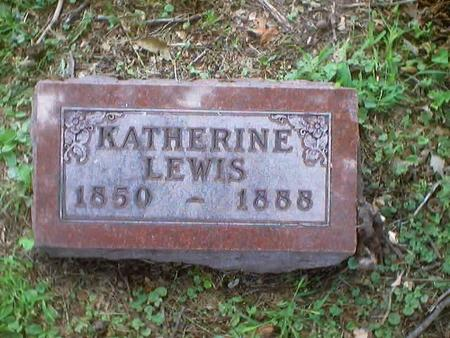 LEWIS, KATHERINE - Polk County, Iowa | KATHERINE LEWIS
