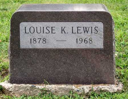 LEWIS, LOUISE K. - Polk County, Iowa | LOUISE K. LEWIS