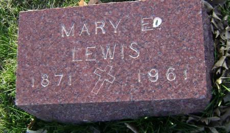 LEWIS, MARY E - Polk County, Iowa | MARY E LEWIS