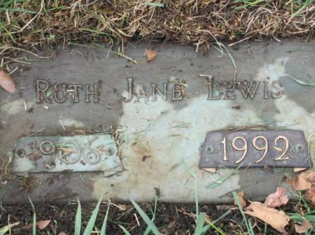 LEWIS, RUTH  JANE - Polk County, Iowa | RUTH  JANE LEWIS