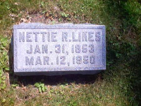 LIKES, NETTIE R. - Polk County, Iowa | NETTIE R. LIKES