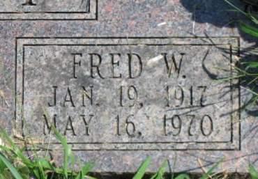 LINT, FRED W. - Polk County, Iowa   FRED W. LINT