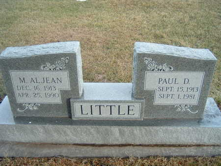 LITTLE, M. ALJEAN - Polk County, Iowa | M. ALJEAN LITTLE