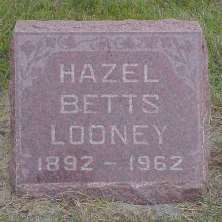BETTS LOONEY, HAZEL - Polk County, Iowa | HAZEL BETTS LOONEY