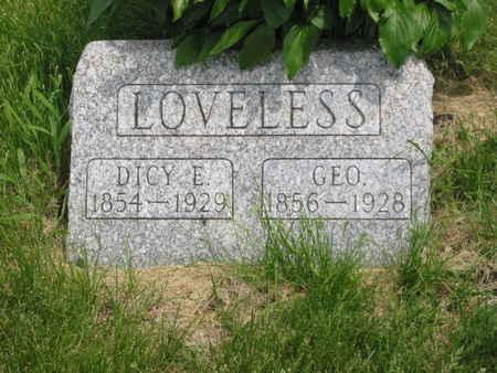 LOVELESS, GEORGE - Polk County, Iowa | GEORGE LOVELESS