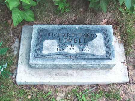 LOVELL, RICHARD HARRY - Polk County, Iowa | RICHARD HARRY LOVELL