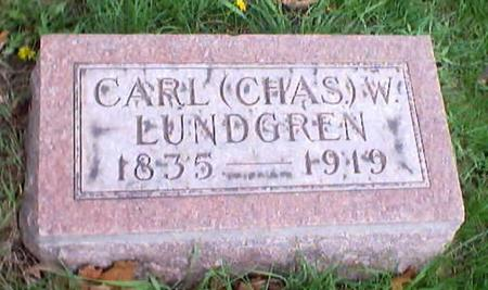 LUNDGREN, CARL (CHARLES) W. - Polk County, Iowa | CARL (CHARLES) W. LUNDGREN