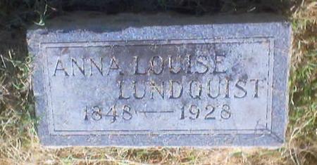 LUNDQUIST, ANNA LOUISE - Polk County, Iowa | ANNA LOUISE LUNDQUIST