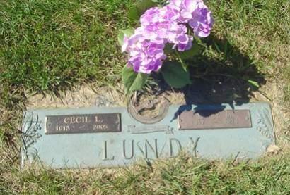 LUNDY, CECIL - Polk County, Iowa   CECIL LUNDY