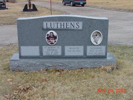 LUTHENS, AUGUST - Polk County, Iowa | AUGUST LUTHENS