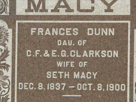 MACY, FRANCES - Polk County, Iowa | FRANCES MACY