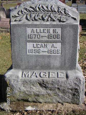 MAGEE, ALLEN N. - Polk County, Iowa | ALLEN N. MAGEE