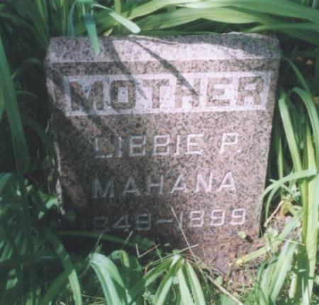 MAHANA, LIBBIE - Polk County, Iowa | LIBBIE MAHANA