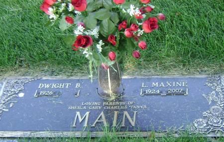 MAIN, DWIGHT B - Polk County, Iowa | DWIGHT B MAIN