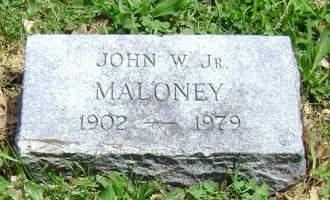 MALONEY, JOHN W. JR - Polk County, Iowa | JOHN W. JR MALONEY