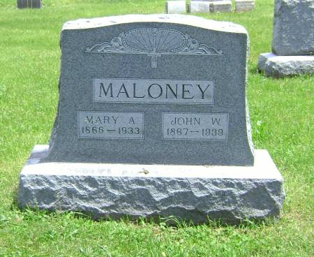 MALONEY, JOHN W. - Polk County, Iowa | JOHN W. MALONEY
