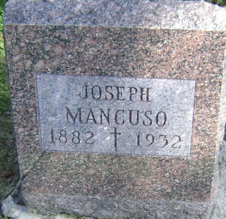 MANCUSO, JOSEPH - Polk County, Iowa | JOSEPH MANCUSO