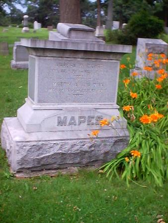 MAPES, MARTHA E. - Polk County, Iowa   MARTHA E. MAPES