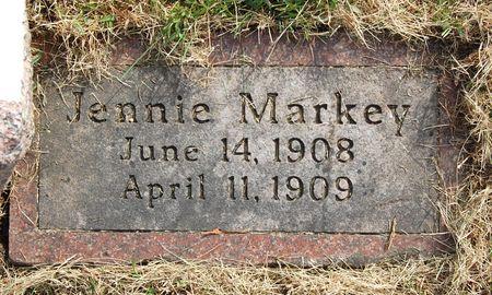 MARKEY, JENNIE - Polk County, Iowa   JENNIE MARKEY