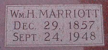 MARRIOTT, WM. H. - Polk County, Iowa | WM. H. MARRIOTT