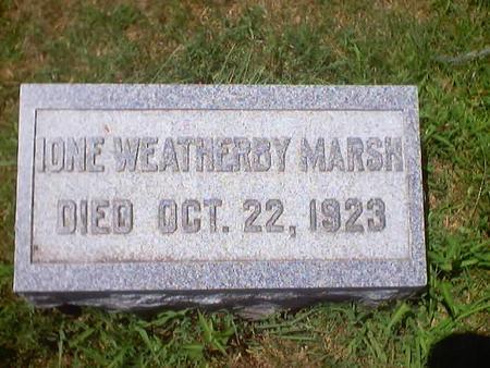 WEATHERBY MARSH, IONE - Polk County, Iowa | IONE WEATHERBY MARSH