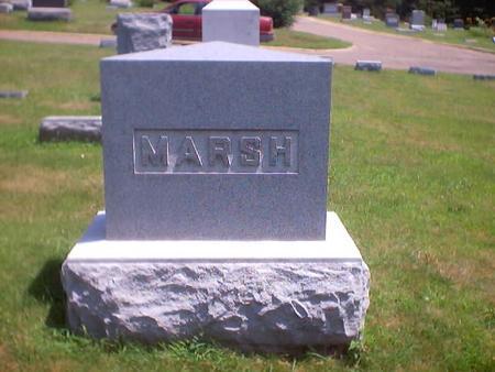 MARSH, MAIN STONE - Polk County, Iowa | MAIN STONE MARSH
