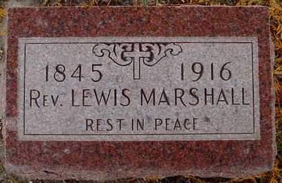 MARSHALL, LEWIS - Polk County, Iowa | LEWIS MARSHALL