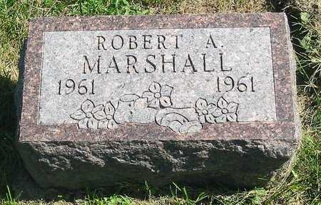 MARSHALL, ROBERT A. - Polk County, Iowa   ROBERT A. MARSHALL