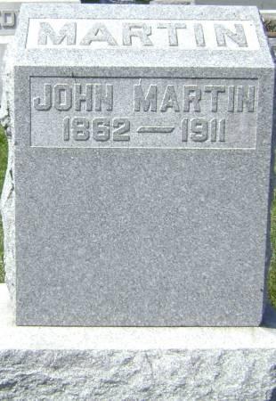 MARTIN, JOHN - Polk County, Iowa | JOHN MARTIN