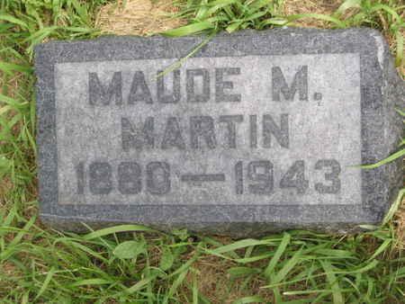 MARTIN, MAUDE M. - Polk County, Iowa | MAUDE M. MARTIN