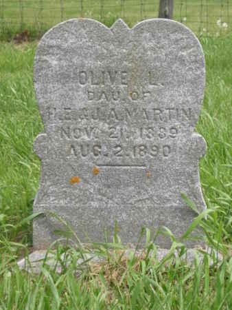 MARTIN, OLIVE L. - Polk County, Iowa | OLIVE L. MARTIN