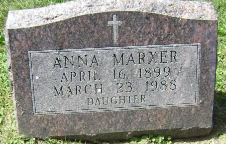 MARXER, ANNA - Polk County, Iowa | ANNA MARXER