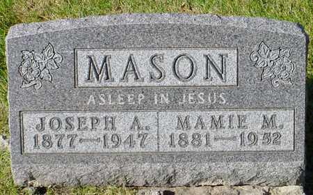 MASON, JOSEPH A. - Polk County, Iowa | JOSEPH A. MASON