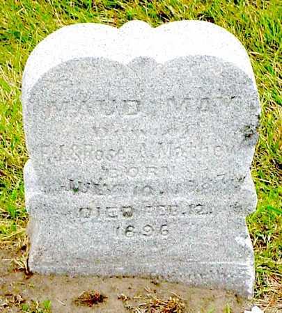 MATHEW, MAUD MAY - Polk County, Iowa   MAUD MAY MATHEW