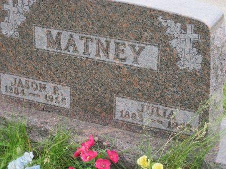 JOHNSON MATNEY, JULIA - Polk County, Iowa | JULIA JOHNSON MATNEY