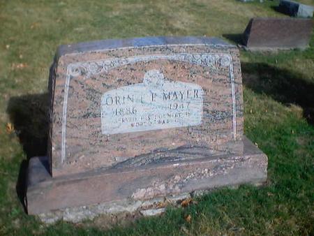 MAYER, ORIN P. - Polk County, Iowa | ORIN P. MAYER