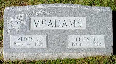 MCADAMS, ALDEN S. - Polk County, Iowa   ALDEN S. MCADAMS