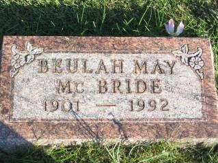 MCBRIDE, BEULAH - Polk County, Iowa | BEULAH MCBRIDE