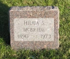 MCBRIDE, HILDA - Polk County, Iowa   HILDA MCBRIDE