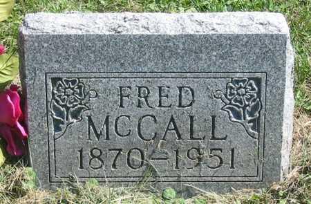 MCCALL, FRED - Polk County, Iowa   FRED MCCALL