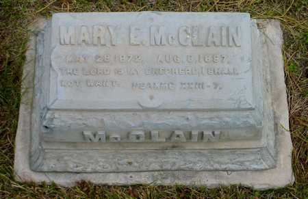 MCCLAIN, MARY E. - Polk County, Iowa | MARY E. MCCLAIN