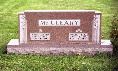 MCCLEARY, NORA ALDORA - Polk County, Iowa | NORA ALDORA MCCLEARY