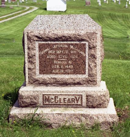 MCCLEARY, THOMAS JEFFERSON - Polk County, Iowa | THOMAS JEFFERSON MCCLEARY