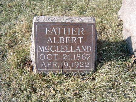 MCCLELLAND, ALBERT - Polk County, Iowa   ALBERT MCCLELLAND