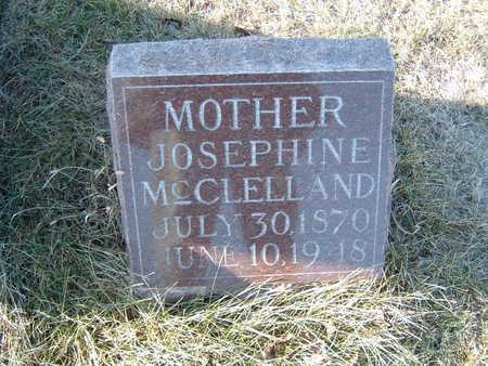 MCCLELLAND, JOSEPHINE - Polk County, Iowa | JOSEPHINE MCCLELLAND