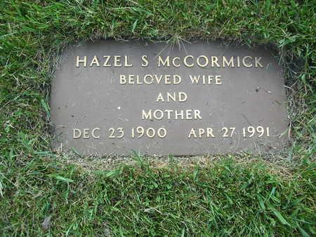 MCCORMICK, HAZEL - Polk County, Iowa | HAZEL MCCORMICK