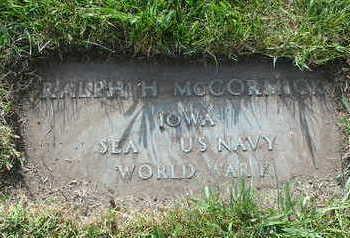 MCCORMICK, RALPH - Polk County, Iowa | RALPH MCCORMICK