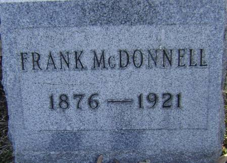 MCDONNELL, FRANK - Polk County, Iowa | FRANK MCDONNELL